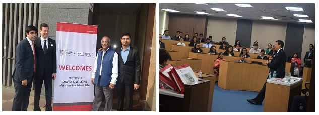 Prof. David Wilkins with Dr. Paritosh Basu at KPMSOL